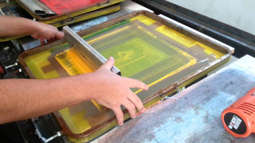 Silk Screen ou Serigrafia - 2