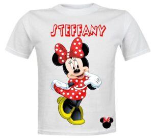 Camisetas Personalizadas Minnie